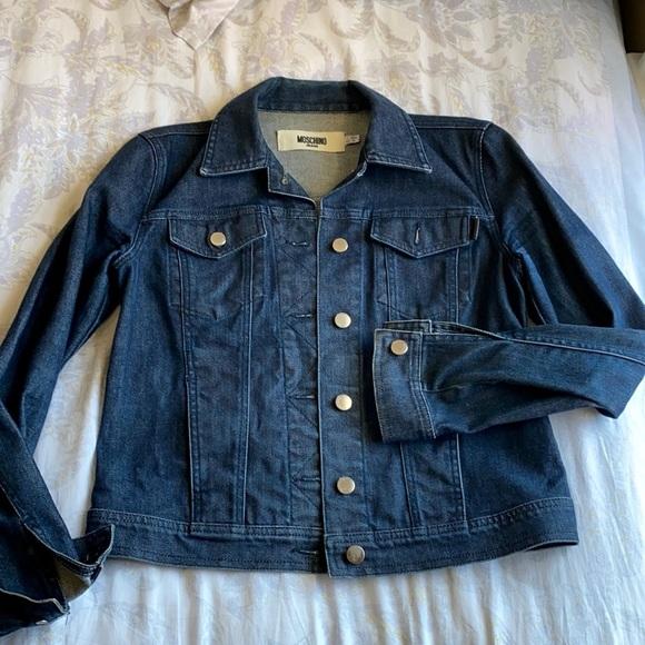 Moschino Jeans dark denim jacket size 8